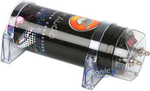 planet audio pc3 5b (pc35b) 3 5 farad capacitor with digital Home Capacitor Wiring Audio Jack Wiring planet audio capacitor wiring