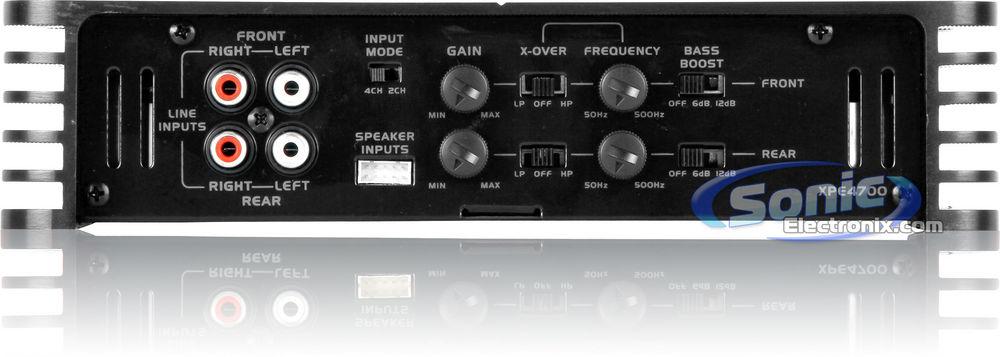 Dual XPE4700 800-Watt 4-Channel MOSFET XPE Series Power Amplifier